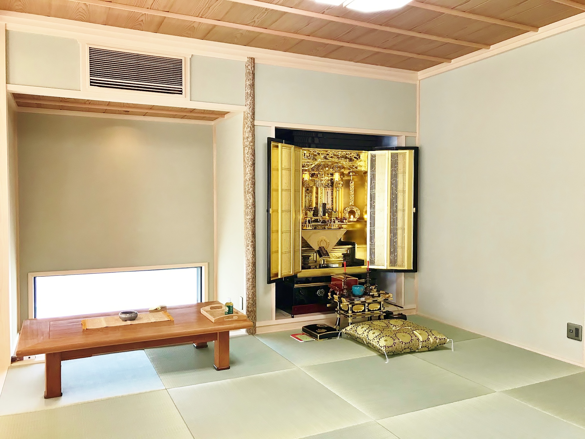 お仏壇ご納入のご報告です。
